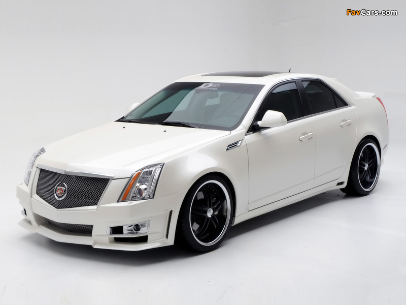 Cadillac CTS by D3 2007 wallpapers (800 x 600)