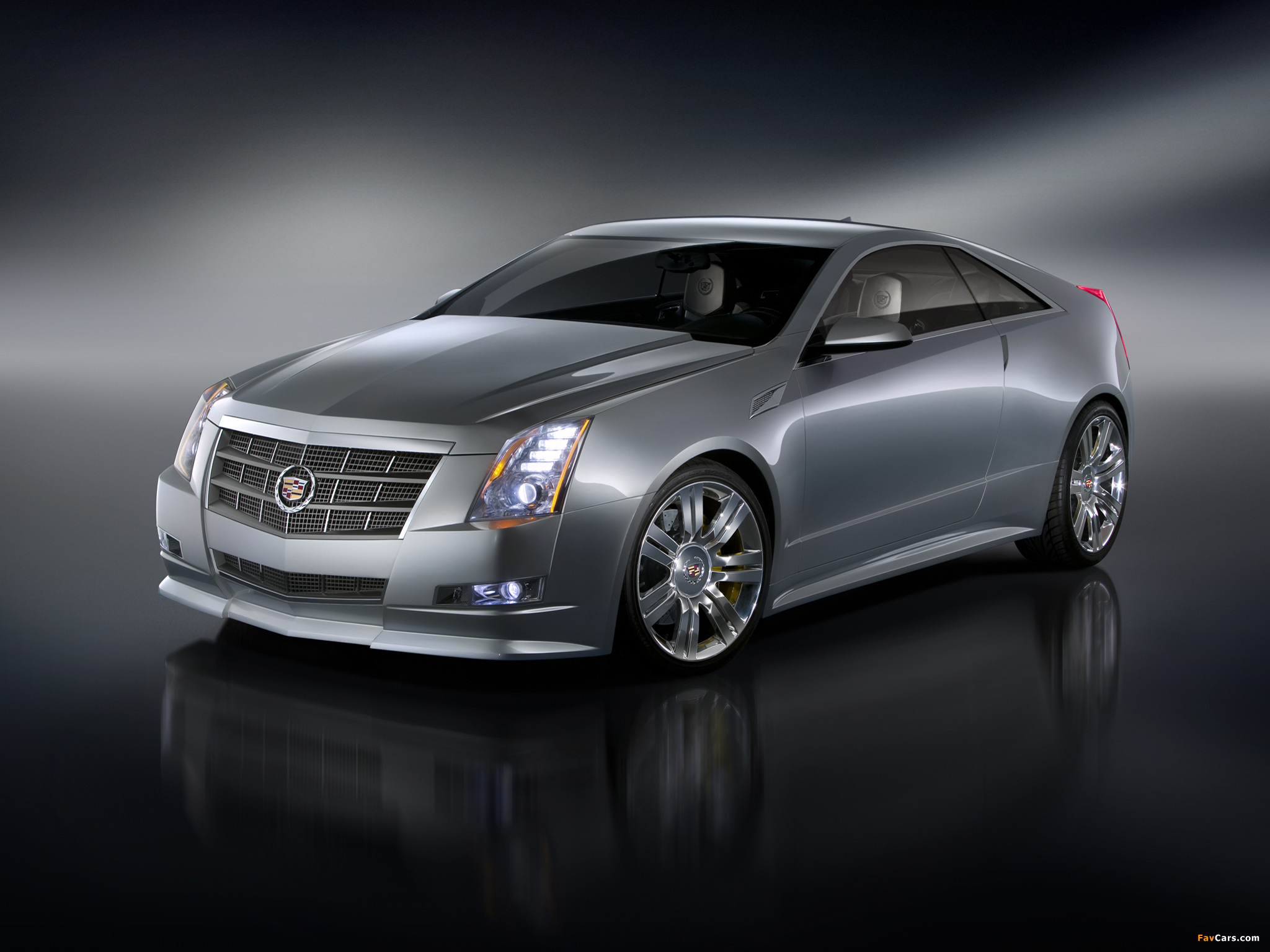 Cadillac CTS Coupe Concept 2008 wallpapers (2048 x 1536)