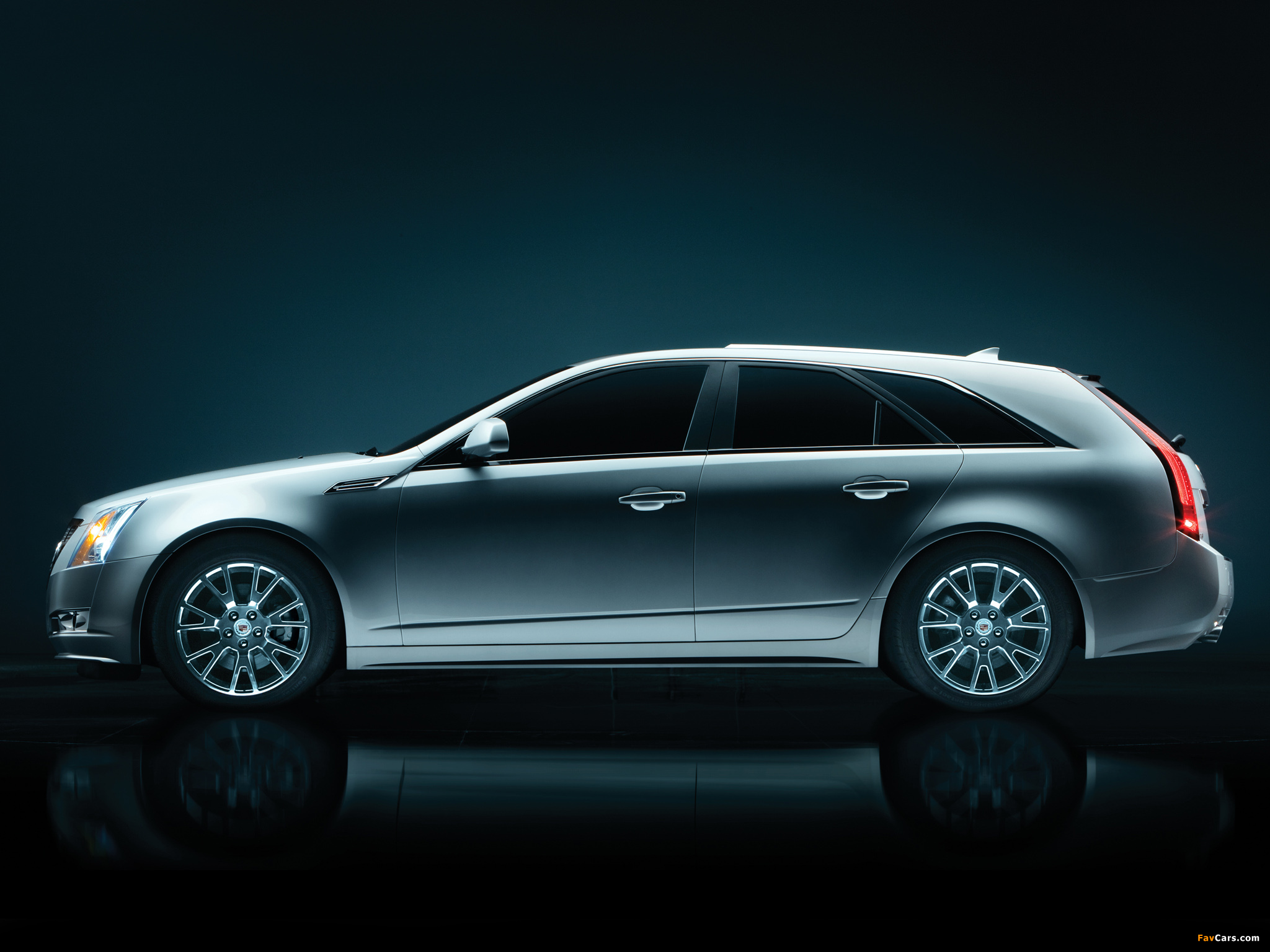 Cadillac CTS Sport Wagon 2009 wallpapers (2048 x 1536)