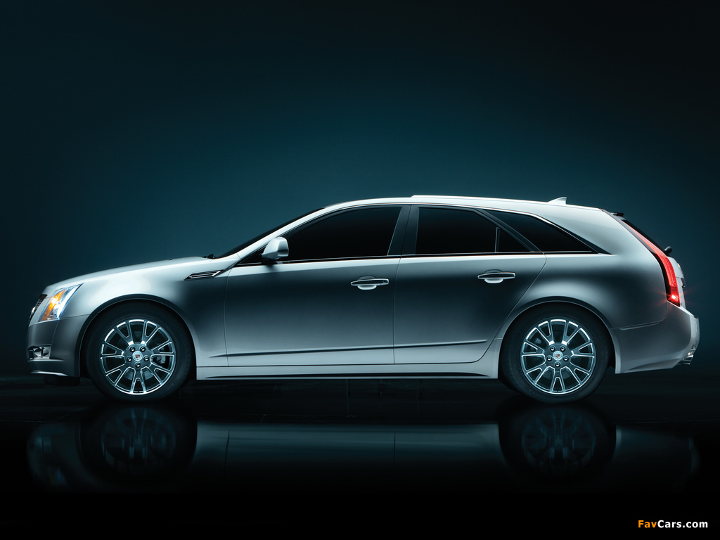 Cadillac CTS Sport Wagon 2009 wallpapers (1024 x 768)