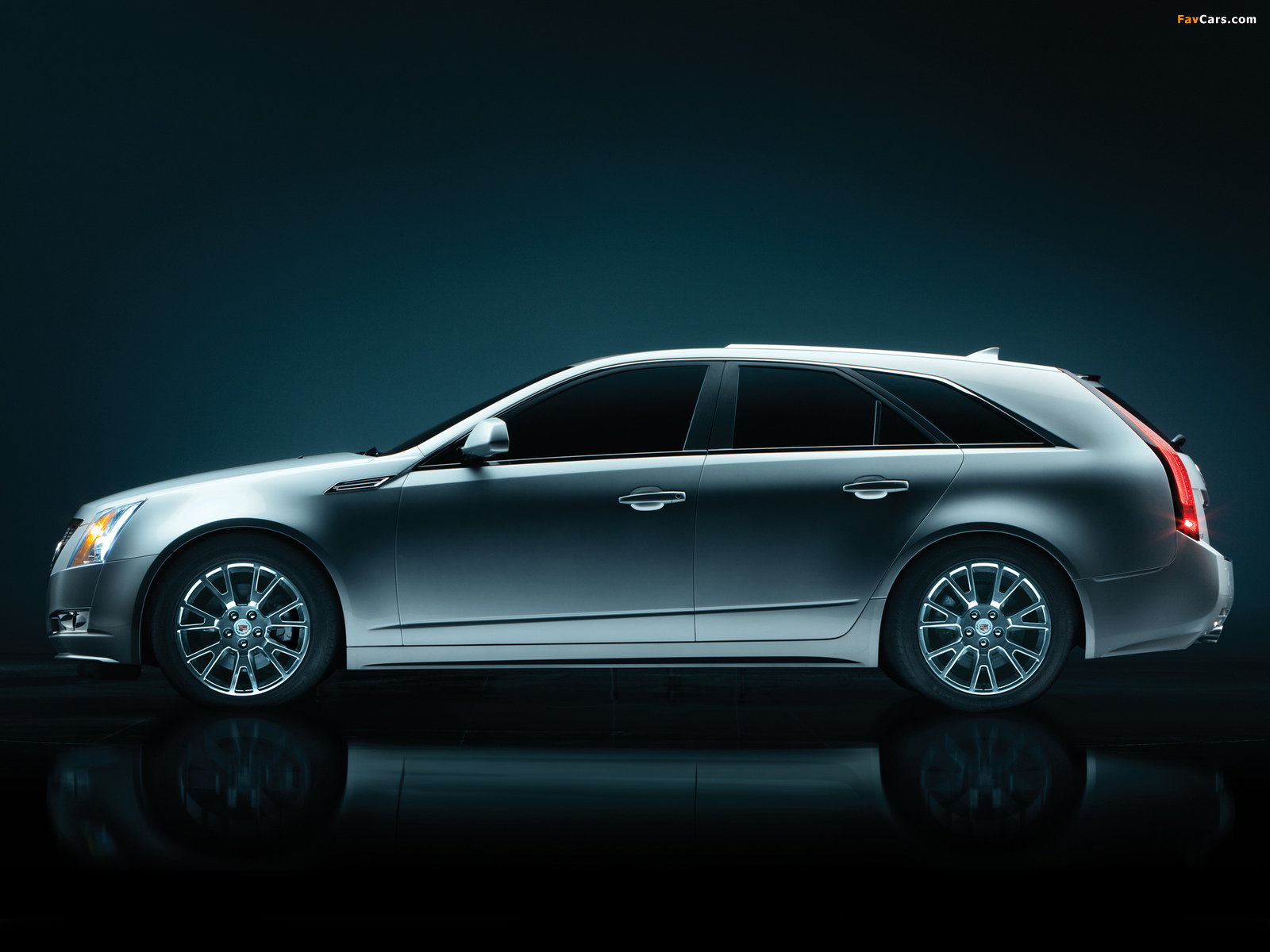 Cadillac CTS Sport Wagon 2009 wallpapers (1600 x 1200)