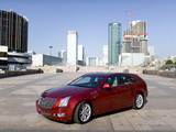Cadillac CTS Sport Wagon 2009 wallpapers