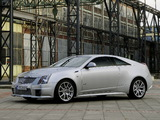 Cadillac CTS-V Coupe EU-spec 2010 wallpapers