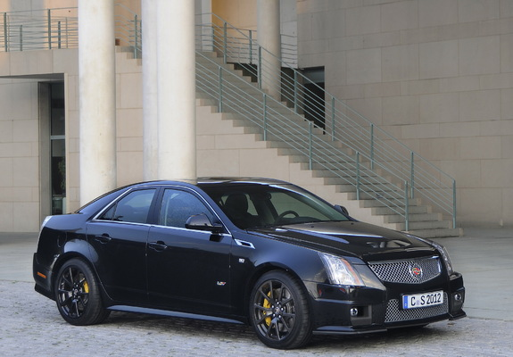 Cadillac Cts V Eu Spec 2010 Wallpapers