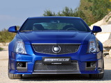 Geiger Cadillac CTS-V Coupe Blue Brute 2011 wallpapers