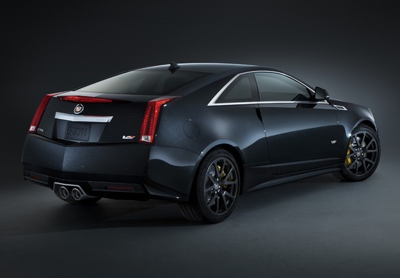 Cadillac Cts V Coupe Black Diamond 2011 Wallpapers