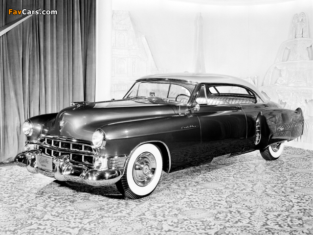 Cadillac Coupe de Ville Prototype by Fleetwood 1949 photos (640 x 480)