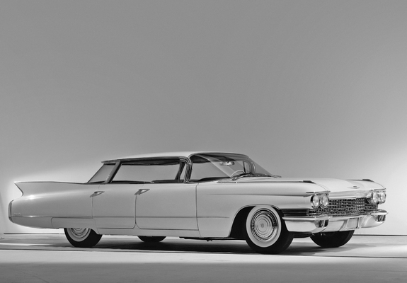Cadillac Deville 4 Window Sedan 6339b 1960 Wallpapers