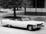 Cadillac de Ville Convertible (68367-F) 1965 photos
