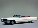 Cadillac de Ville Convertible (68367-F) 1965 pictures
