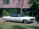 Cadillac Sedan de Ville 1966 images