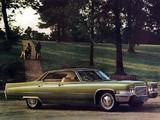 Cadillac Hardtop Sedan de Ville 1970 wallpapers