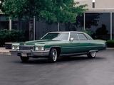 Cadillac Sedan de Ville 1973 photos