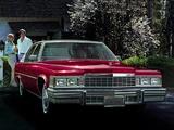 Cadillac Sedan de Ville 1977 wallpapers