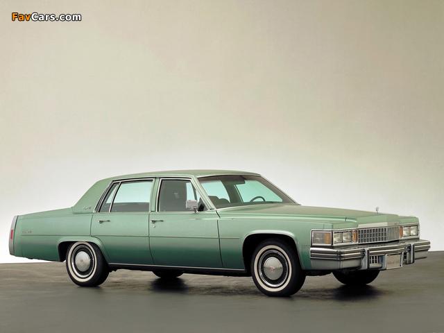 Cadillac Sedan de Ville 1978 wallpapers (640 x 480)
