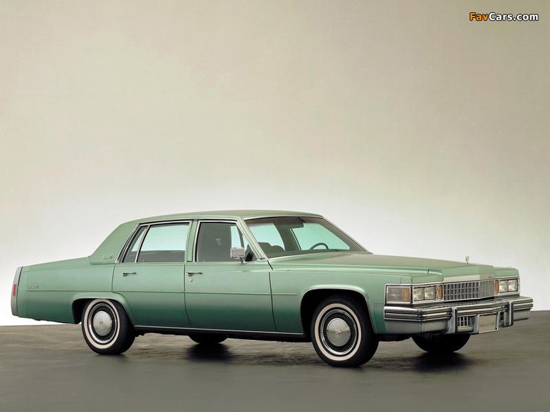Cadillac Sedan de Ville 1978 wallpapers (800 x 600)