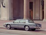 Cadillac Sedan de Ville 1989–93 wallpapers
