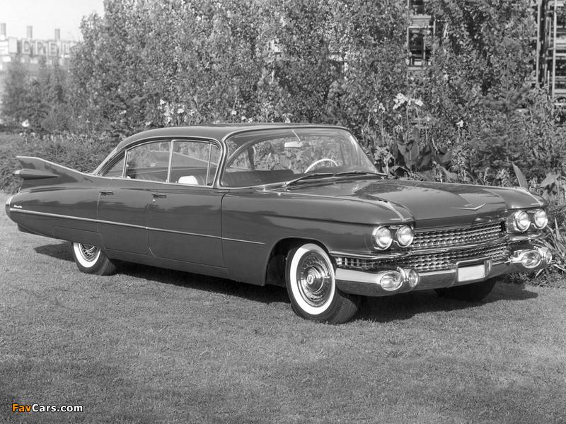 Images of Cadillac DeVille 6-window Sedan (6329L) 1959 (800 x 600)