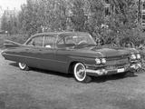 Images of Cadillac DeVille 6-window Sedan (6329L) 1959