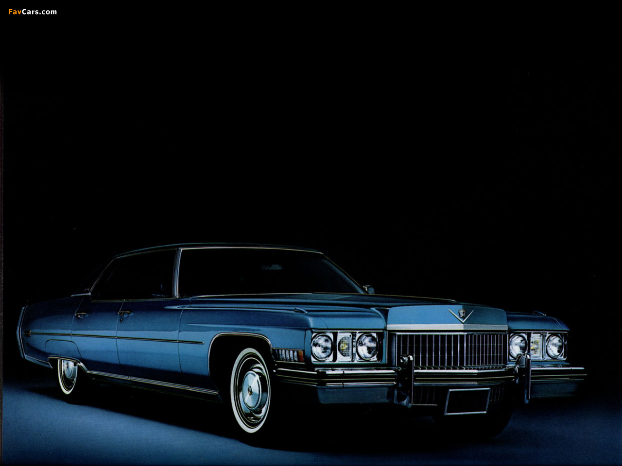 Images of Cadillac Sedan de Ville 1973 (1280 x 960)