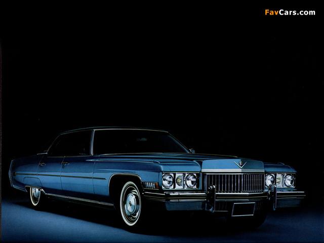 Images of Cadillac Sedan de Ville 1973 (640 x 480)