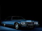 Images of Cadillac Sedan de Ville 1973