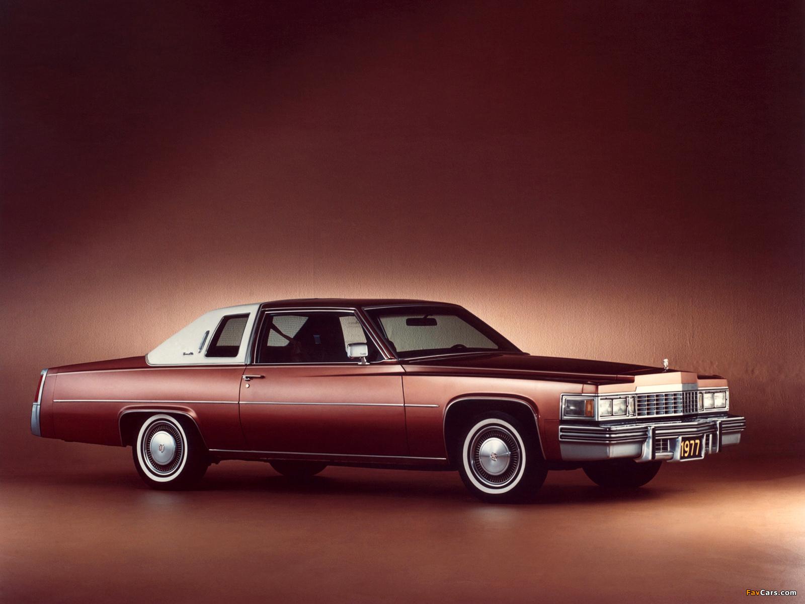 Pictures of Cadillac Coupe de Ville 1977 (1600 x 1200)