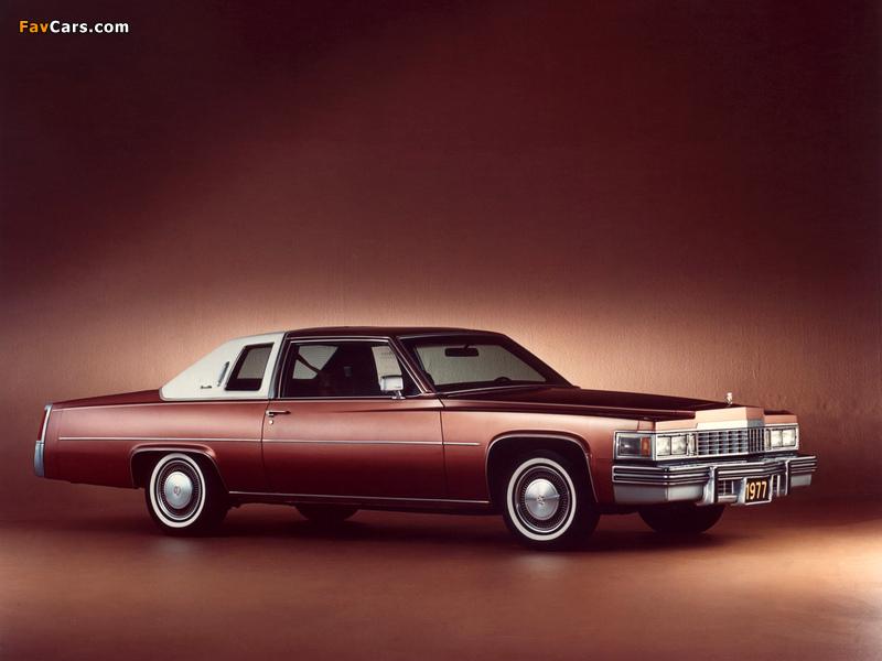 Pictures of Cadillac Coupe de Ville 1977 (800 x 600)