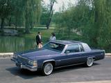 Pictures of Cadillac Coupe de Ville dElegance 1980–84