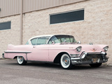Wallpapers of Cadillac Sixty-Two Coupe de Ville (6237DX) 1957
