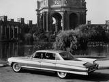 Cadillac Sixty-Two Sedan de Ville 6-window (6329L) 1961 wallpapers