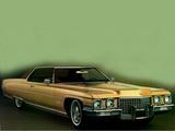 Cadillac Coupe de Ville (68347J) 1971 wallpapers