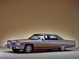 Cadillac Sedan de Ville (D49/B) 1975 wallpapers