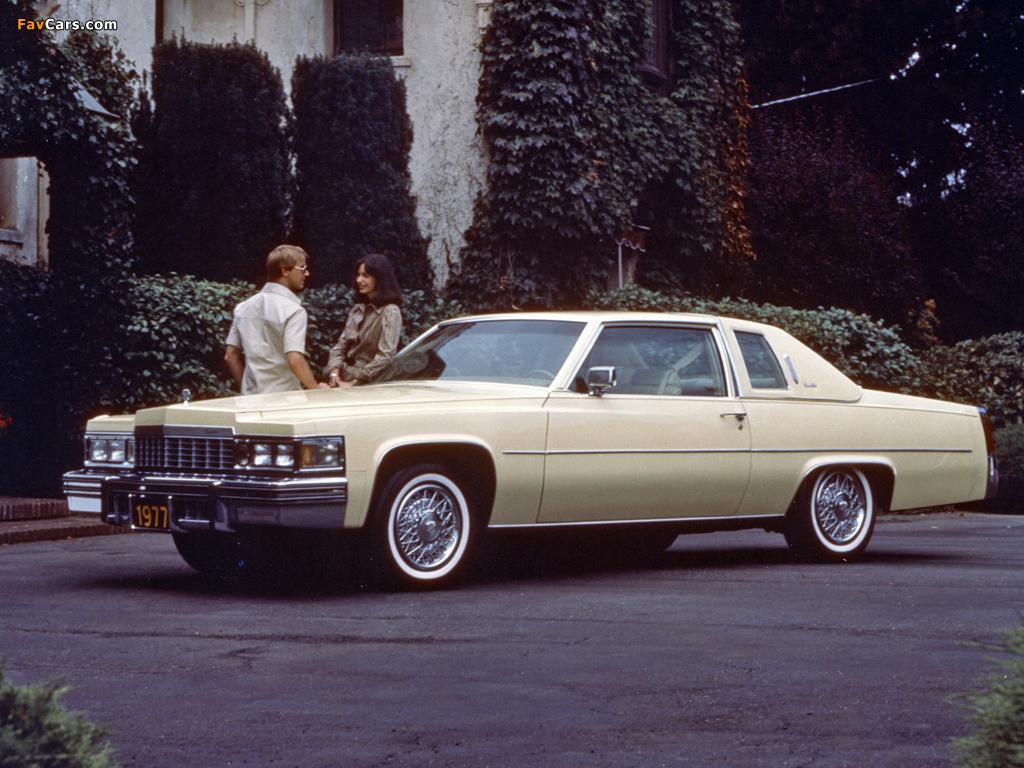 Cadillac Coupe de Ville 1977 wallpapers (1024 x 768)