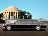 Cadillac DeVille Presidential Limousine 2001 wallpapers