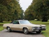 Cadillac Fleetwood Eldorado 1969 pictures