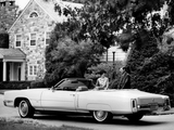 Cadillac Eldorado Convertible 1971 wallpapers