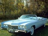 Cadillac Fleetwood Eldorado Convertible (L67-E) 1972 wallpapers