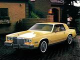 Cadillac Eldorado 1980 photos