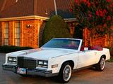 1984–85 Cadillac Eldorado Biarritz Convertible 1983–85 photos