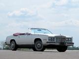1984–85 Cadillac Eldorado Biarritz Convertible 1983–85 wallpapers