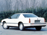 Cadillac Eldorado Touring Coupe EU-spec 1992–94 wallpapers