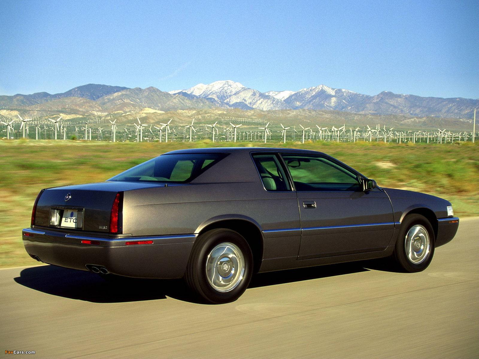 cadillac eldorado touring coupe 1995–2002 wallpapers (1600x1200)