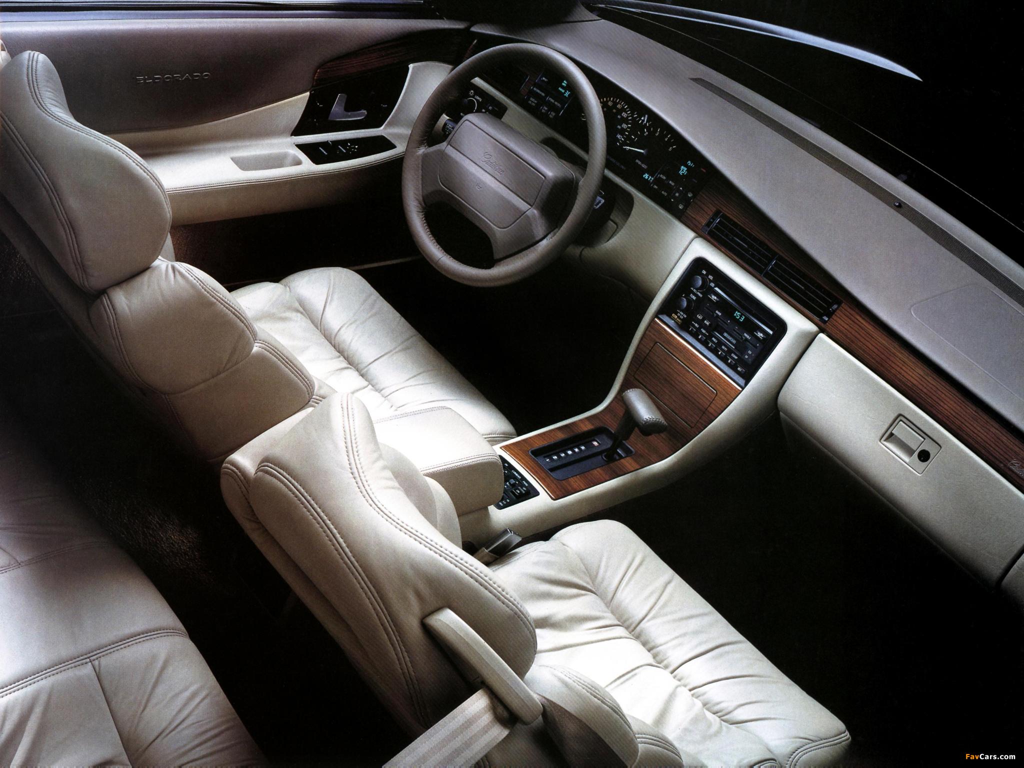 Photos of Cadillac Eldorado Touring Coupe 1992–94 (2048 x 1536)