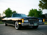 Pictures of Cadillac Fleetwood Eldorado Convertible (L67-E) 1972