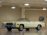 Pictures of Cadillac Eldorado Convertible 1976