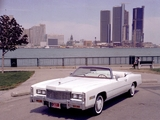 Pictures of Cadillac Eldorado Convertible 1976