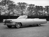 Cadillac Eldorado Biarritz Convertible 1963 wallpapers