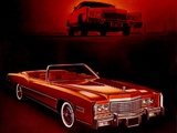 Cadillac Fleetwood Eldorado Convertible (L67/E) 1975 wallpapers
