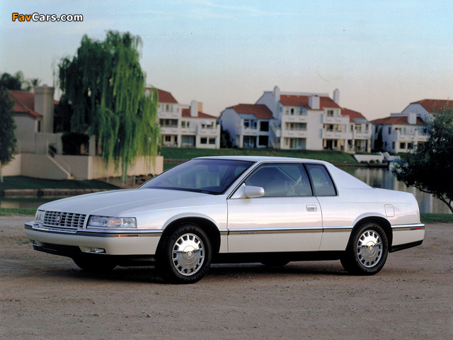 Cadillac Eldorado Touring Coupe 1992–94 wallpapers (640 x 480)